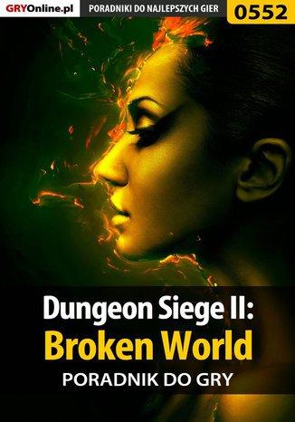 Ok�adka - Dungeon Siege II: Broken World - poradnik do gry