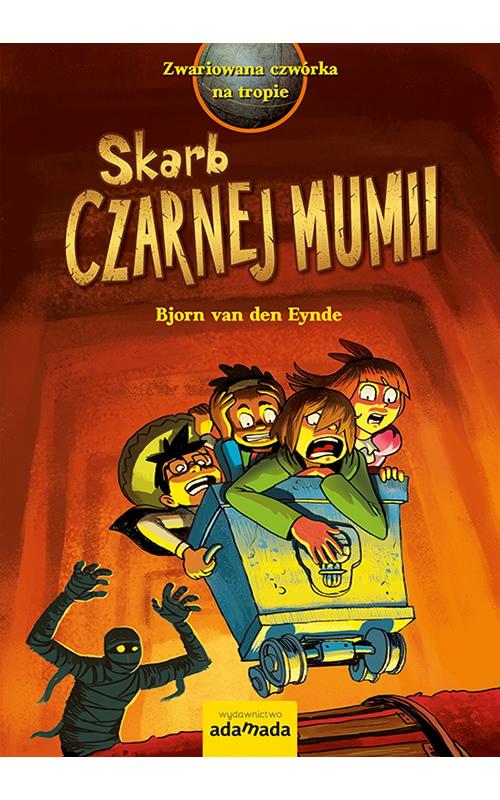 Okładka książki - Skarb Czarnej Mumii