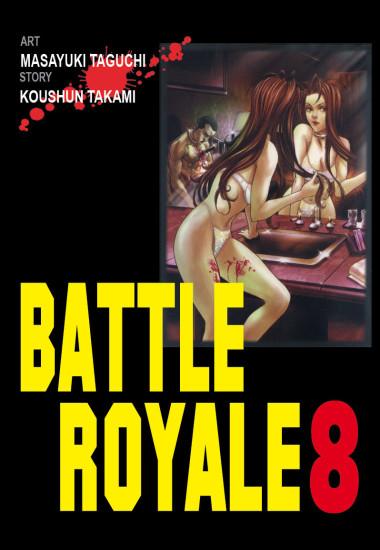 Okładka książki - Battle Royale tom 8