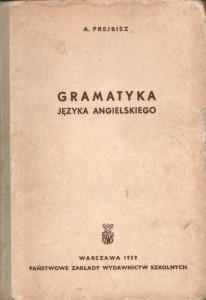 Okładka książki - Gramatyka języka angielskiego
