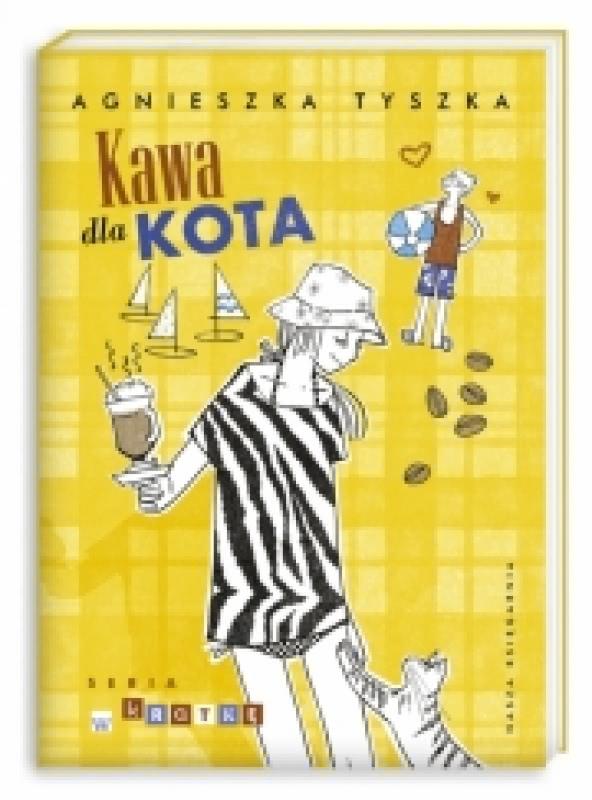 Okładka książki - Kawa dla kota