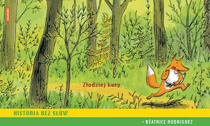 Okładka książki - Złodziej kury