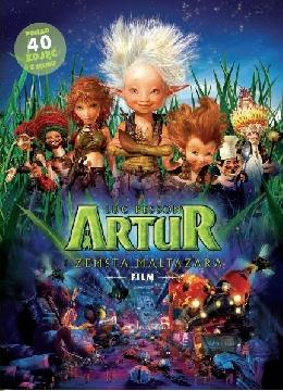 Okładka - Artur i zemsta Maltazara - wersja filmowa