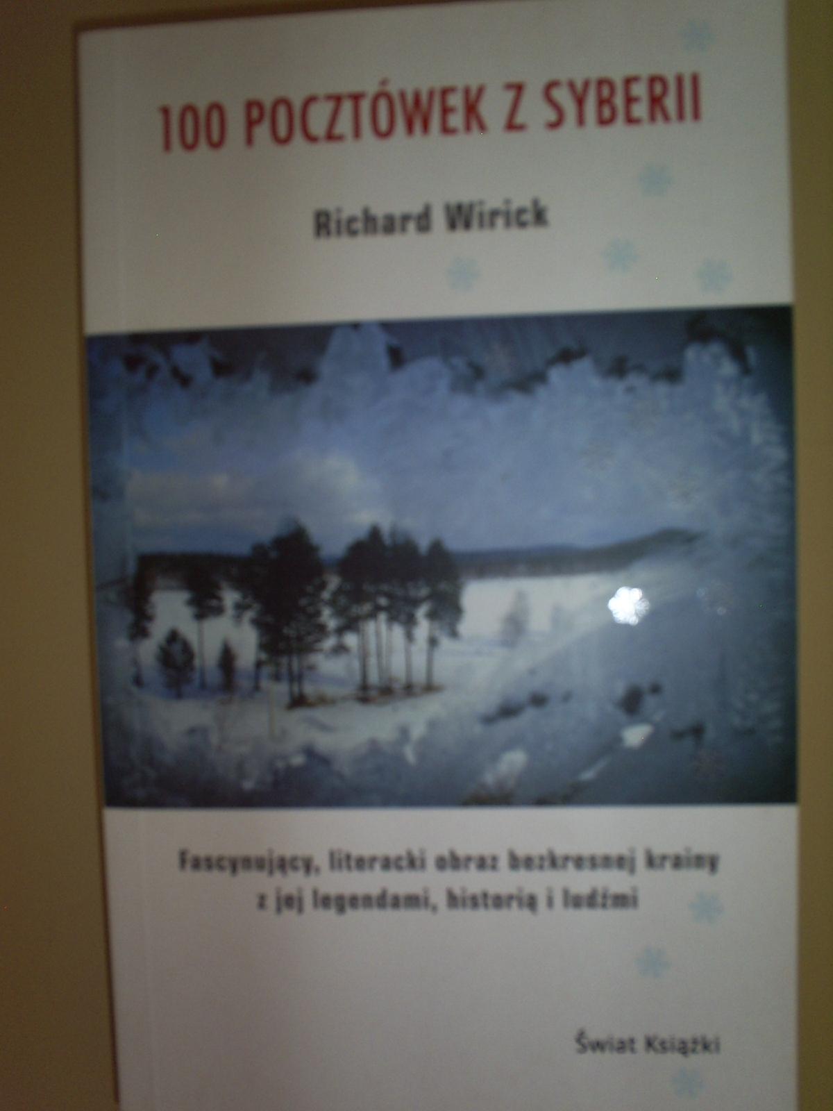 Okładka książki - 100 pocztówek z Syberii