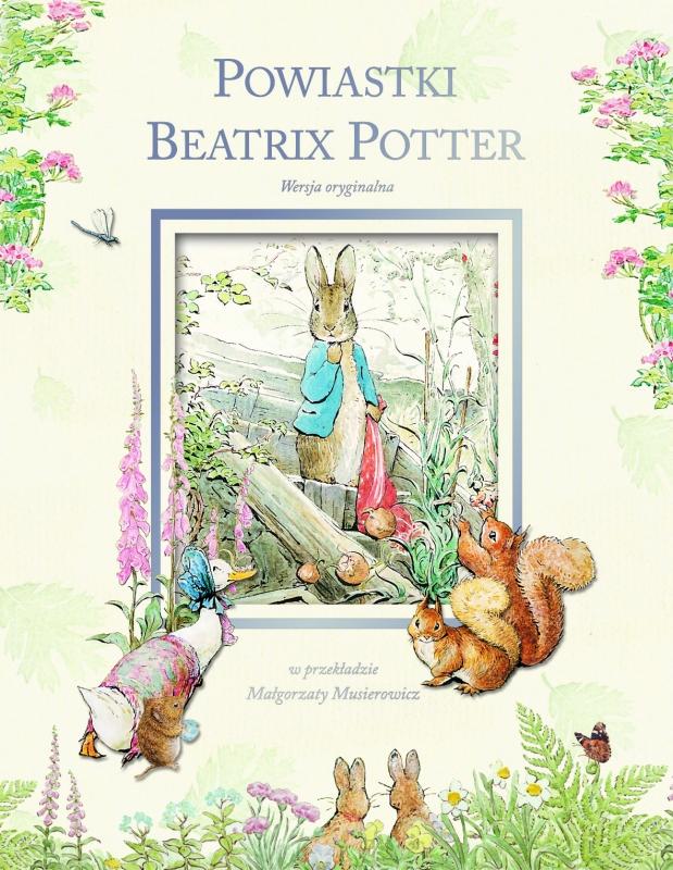 Okładka książki - Powiastki Beatrix Potter