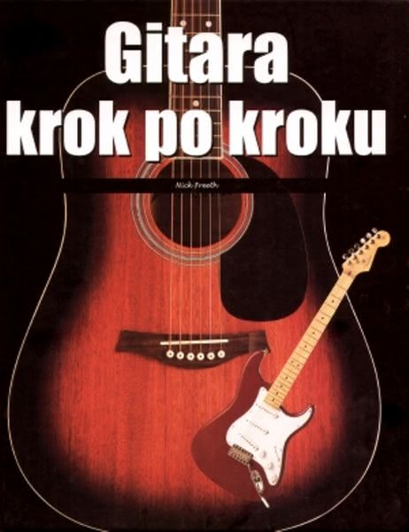 Okładka książki - Gitara krok po kroku