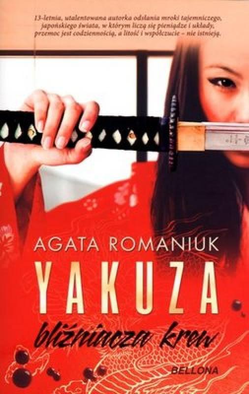 Okładka książki -  Yakuza bliźniacza krew