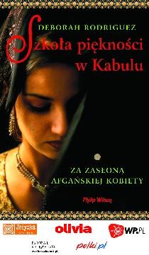 Ok�adka - Szko�a pi�kno�ci w Kabulu: za zas�on� afga�skiej kobiety