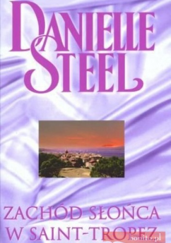 Okładka książki - Zachód słońca w Saint-Tropez