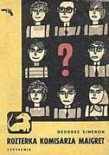 Ok�adka - Rozterka komisarza Maigret