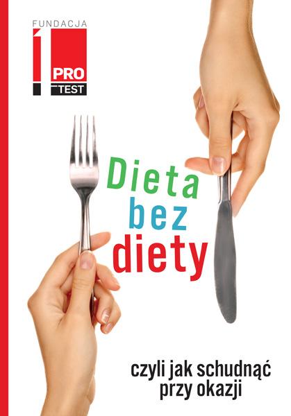 Okładka książki - Dieta bez diety