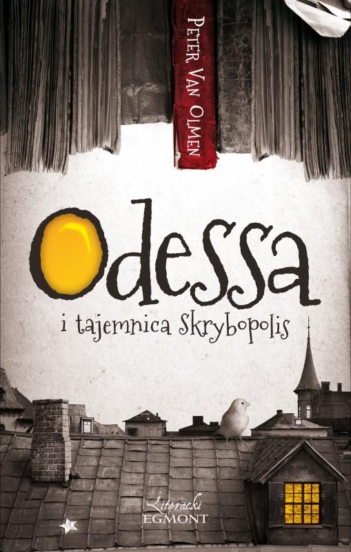 Okładka książki - Odessa i tajemnica Skrybopolis