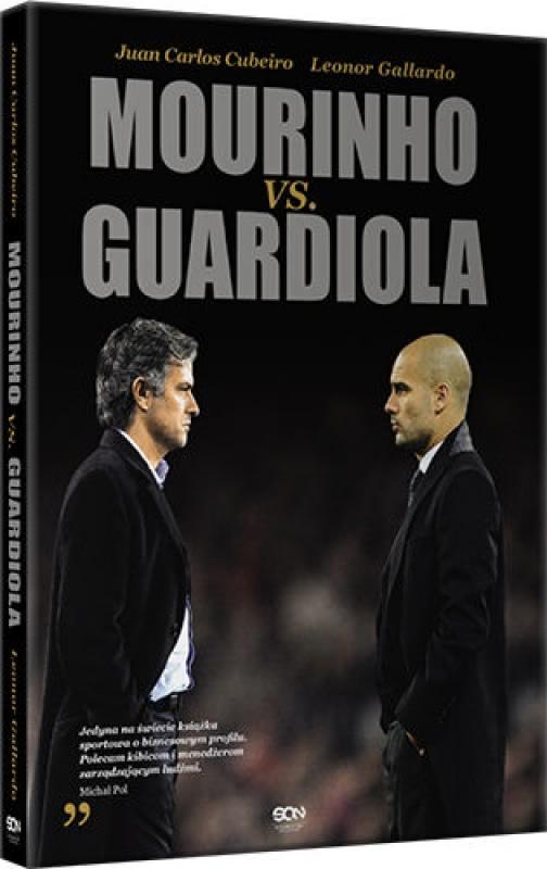 Okładka książki - Mourinho vs. Guardiola