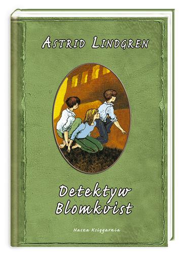 Okładka książki - Detektyw Blomkvist