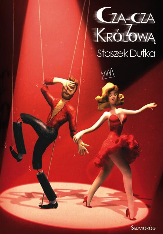 Okładka książki - Cza-cza z Królową