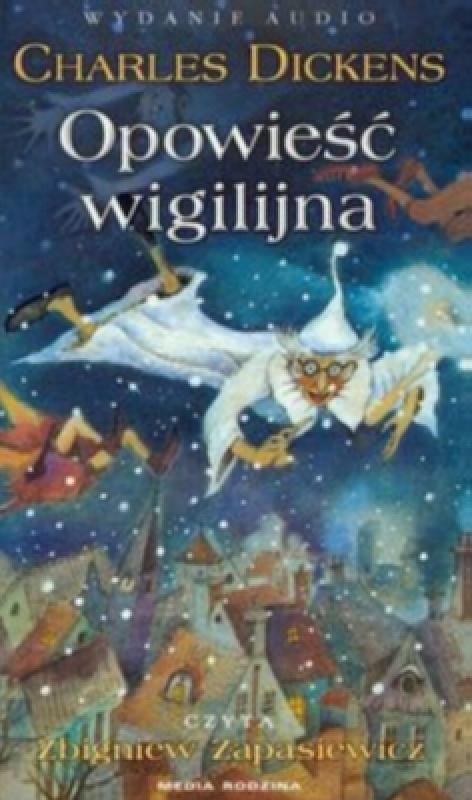 Okładka książki - Opowieść wigilijna