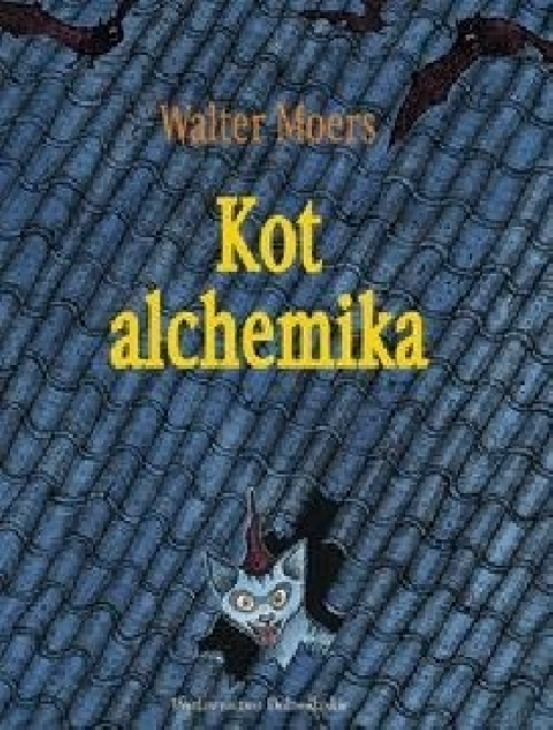 Okładka książki - Kot alchemika