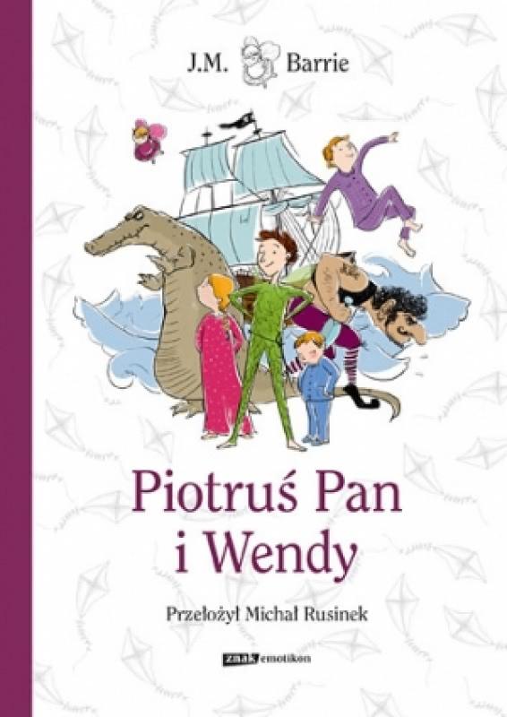 Okładka książki - Piotruś Pan i Wendy