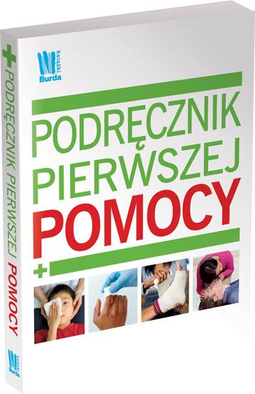 Okładka książki - Podręcznik pierwszej pomocy