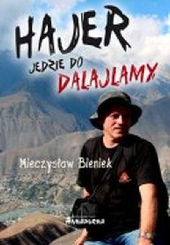 Okładka książki - Hajer jedzie do Dalajlamy