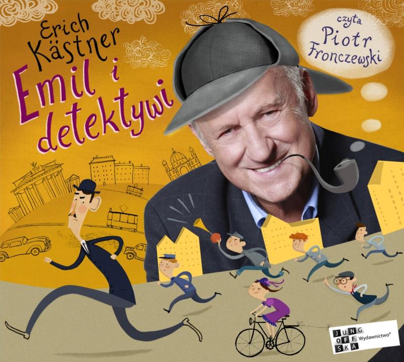 Okładka książki - Emil i detektywi. Audiobook