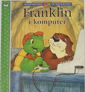 Okładka książki - Franklin i komputer