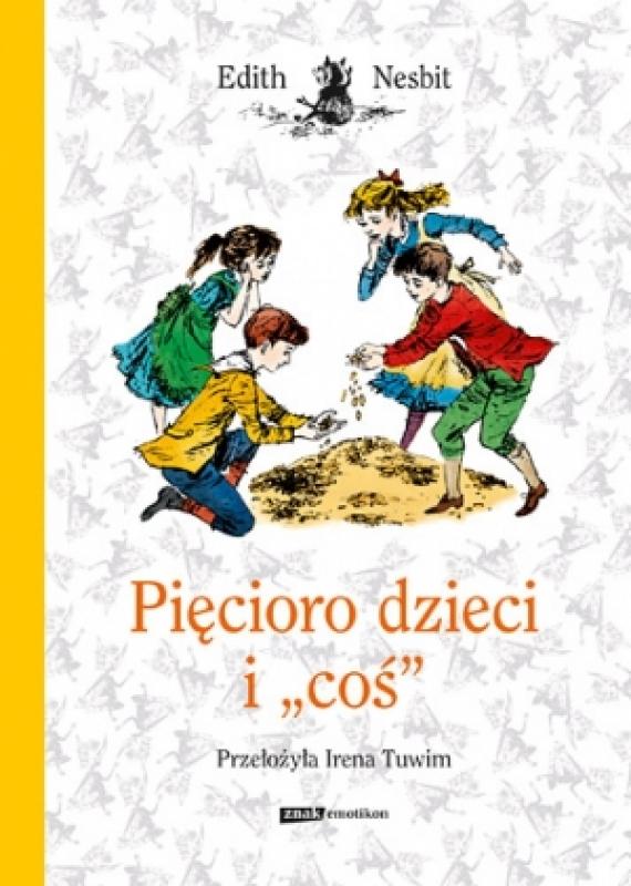 Okładka książki - Pięcioro dzieci i