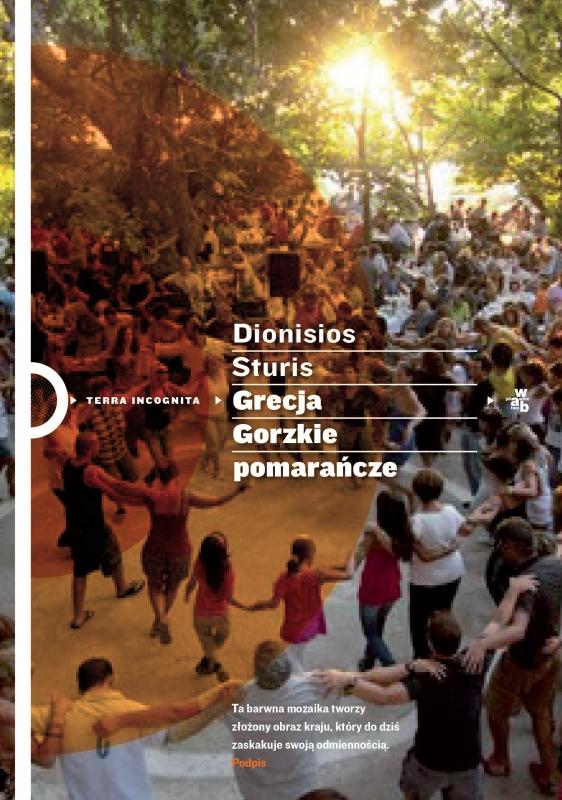 Okładka książki - Grecja Gorzkie pomarańcze
