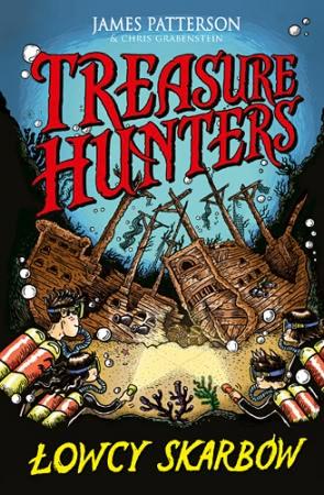 Okładka książki - Treasure Hunters. Łowcy skarbów