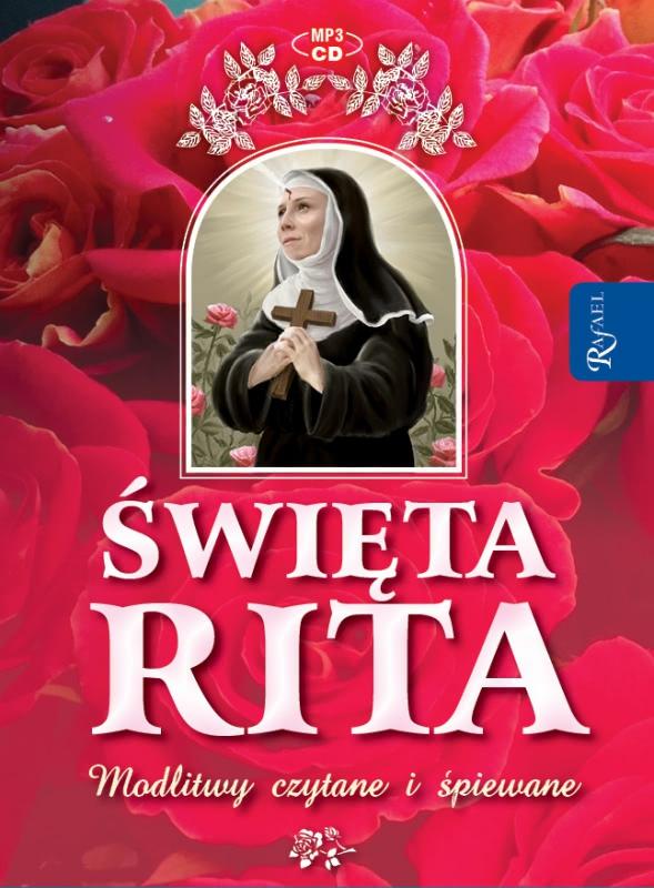 Okładka książki - Święta Rita modlitwy i pieśni