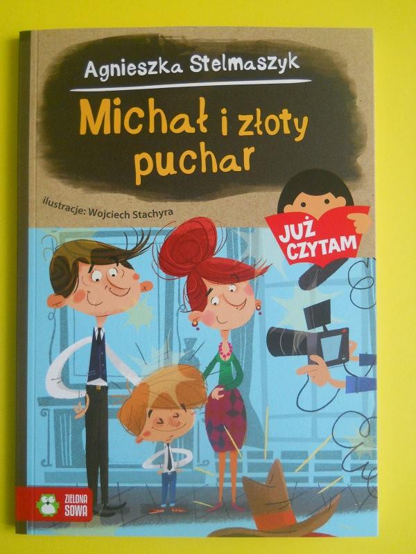 Okładka książki - Michał i złoty puchar Już czytam
