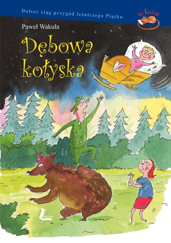 Okładka książki - Dębowa kołyska
