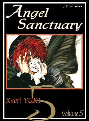 Okładka książki - Angel Sanctuary tom 5