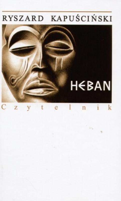 Okładka książki - Heban