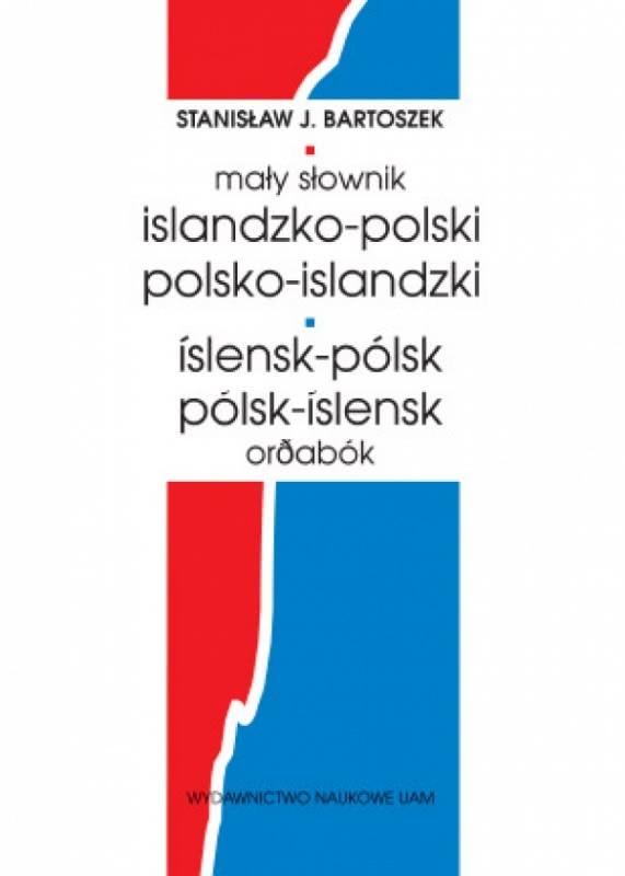 Okładka książki - Mały słownik islandzko-polski, polsko-islandzki