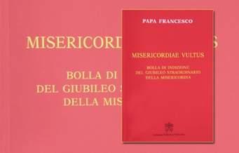Okładka książki - Bulla MISERICORDIAE VULTUS