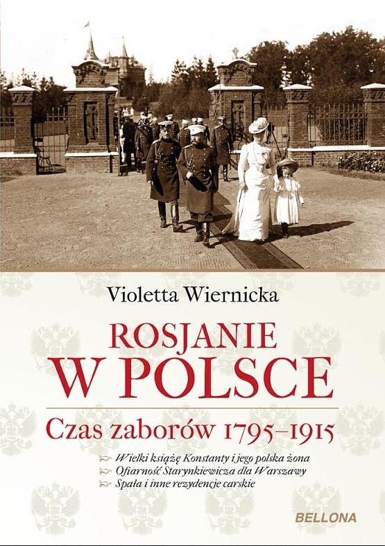 Okładka książki - Rosjanie w Polsce. Czas zaborów 1795-1915