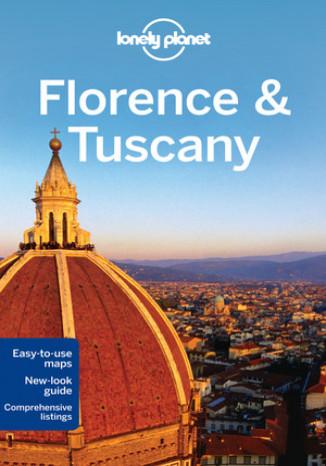Okładka - Florencja i Toskania. Przewodnik Lonely Planet