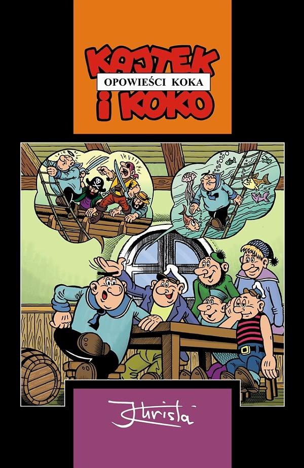 Okładka książki - Kajtek i Koko - Opowieści Koka