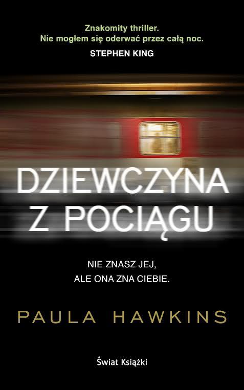 Okładka książki - Dziewczyna z pociągu