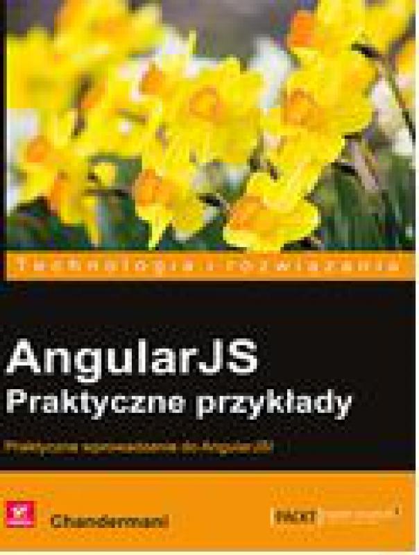 Okładka książki - AngularJS. Praktyczne przykłady