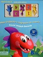 Okładka książki - Moja książeczka z magnesami do liczenia. Dziesięć tańczących dinozaurów