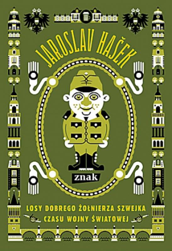 Okładka książki - Losy dobrego żołnierza Szwejka czasu wojny światowej