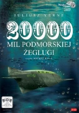 Okładka książki - 20 000 tysięcy mil podmorskiej żeglugi