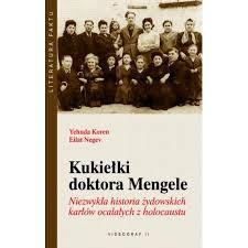 Okładka książki - Kukiełki doktora Mengele