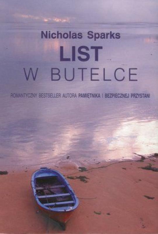 Okładka książki - List w butelce
