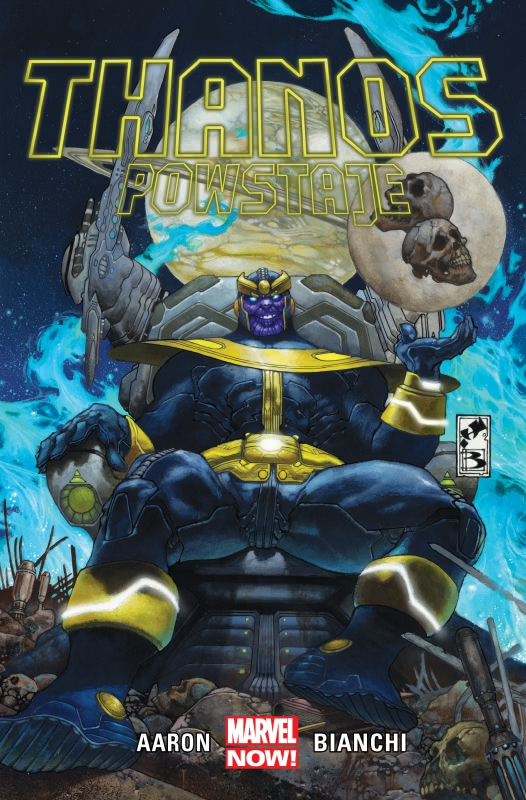 Okładka książki - Thanos  Thanos powstaje, tom 1
