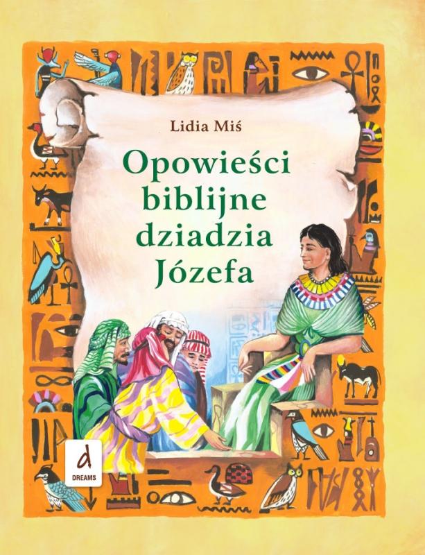Okładka książki - Opowieści biblijne dziadzia Józefa