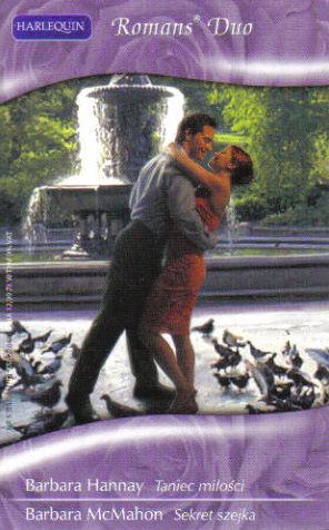 Okładka książki - Taniec miłości. Sekret szejka