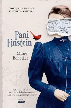 Okładka książki - Pani Einstein